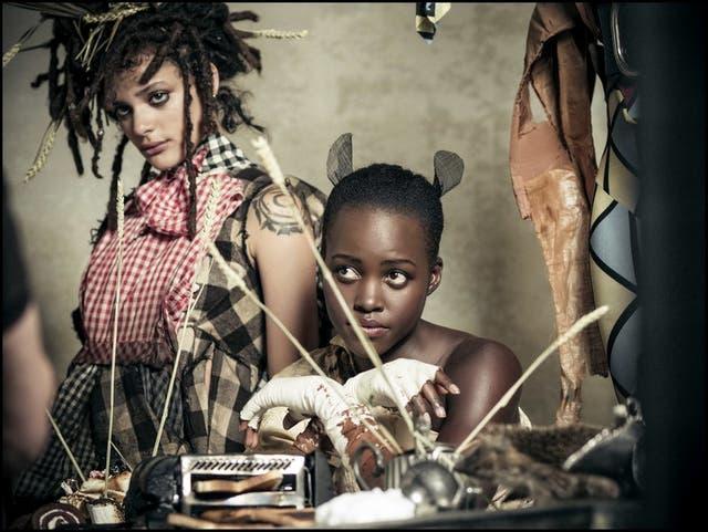Sasha Lane y Lupita Nyong''O para Pirelli