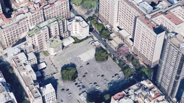 El Hospital de Clínicas será construido en la manzana de enfrente
