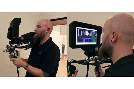 Mediante un controlador de cámara virtual, el director pueda tomar escenas del mundo generado por animación como si estuviera utilizando un equipo con lente tradicional. Foto: Archivo