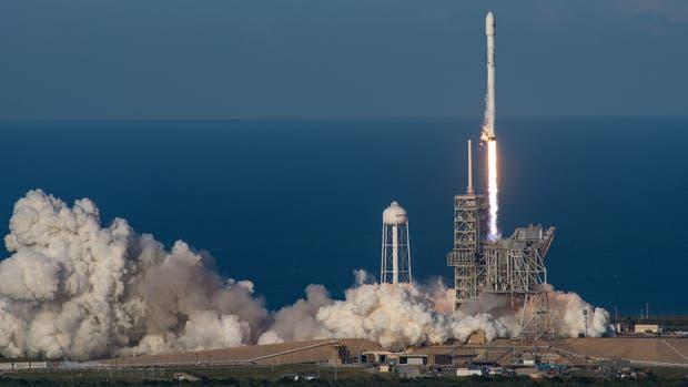 El Falcon-9, ya usado, despega nuevamente, un hito sin precedentes