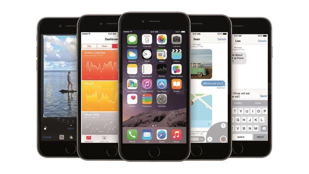 El iPhone 6 fue presentado en 2014