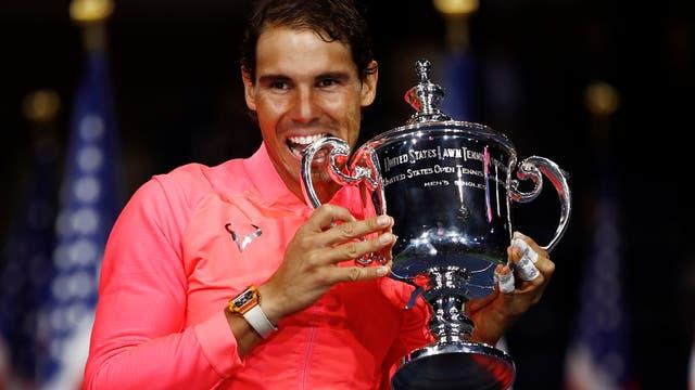En imagenes, ceremonia, personajes, jugadas y los detalles del ultimo Grand Slam del año y un Nadal campeón. Foto: AP