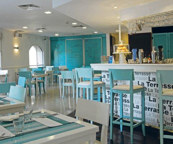 La Terrase del Plaza Hotel une un ambiente relajado con las mejores vistas de la plaza San Martín