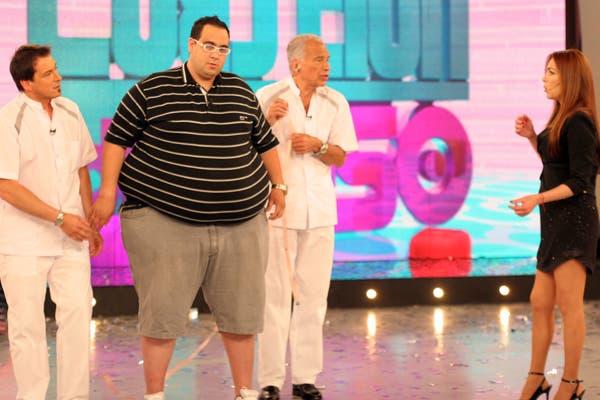 Cormillot, en Cuestión de peso en 2011