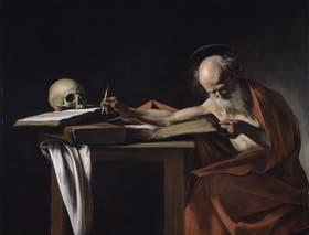 San Jerónimo escribiendo, de 1605-1606