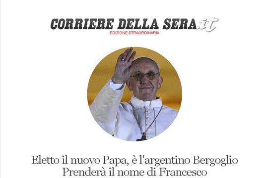 Il Corriere Della Sera. Foto: Captura de Pantalla