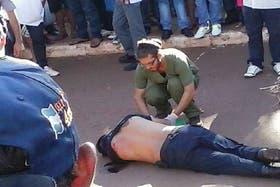 Violento robo a un banco en Misiones: un policía fue asesinado a balazos y un gendarme resultó herido