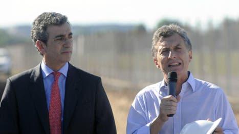 Florencio Randazzo y Mauricio Macri, en 2013