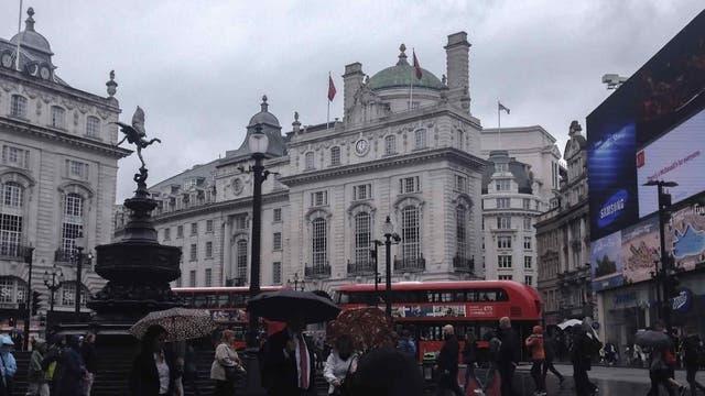 La contaminación restó puntos a Londres, en comparación con otras capitales europeas