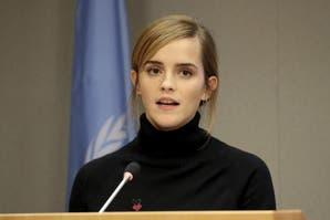 Emma Watson con estilo y conciencia en  la ONU