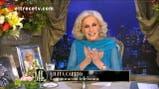 Elisa Carrió no pudo estar en el programa de Mirtha