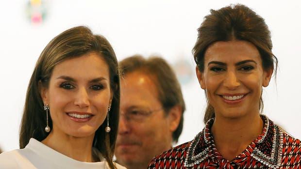 """Juliana Awada: """"La reina Letizia es una inspiración para mí"""""""