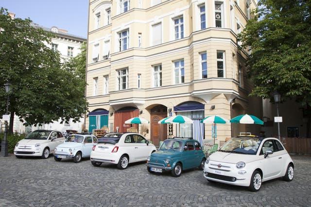 Fiat realiza el Forever Young Tour con el 500 por Europa