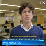 Martín Lousteau habla sobre el proyecto de alquileres