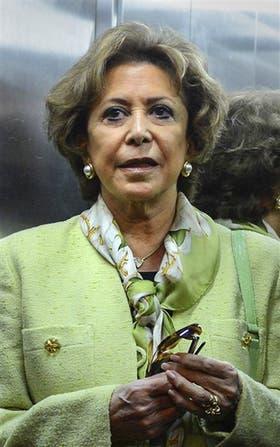 María Julia Alsogaray, ex ministra
