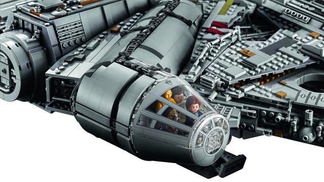 La cabina de mando del Millennium Falcon