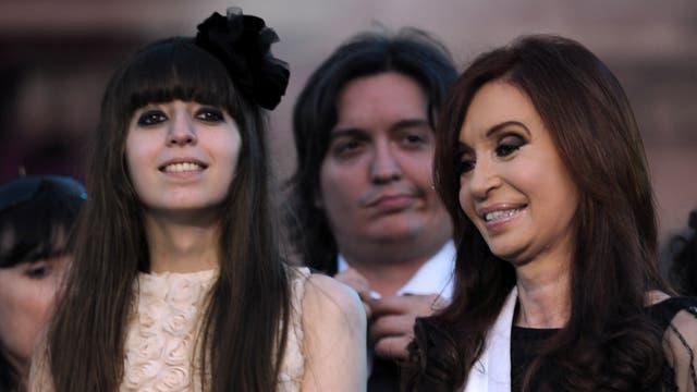 Florencia Kirchner y Máximo Kirchner