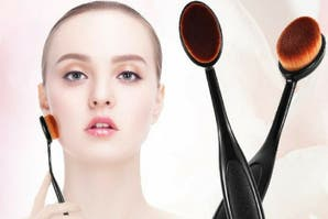 Make up: ¿sabés cómo usar las nuevas brochitas ovaladas?