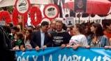 Zannini en la marcha por el Día de la Memoria por la Verdad y la Justicia