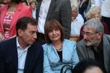 Diego Santilli junto a Patricia Bullrich en la reinauguración del Museo del Holocausto
