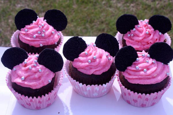 Los Cupcakes son los favoritos de las niñas.  Foto:  Gentileza the Happy Factory