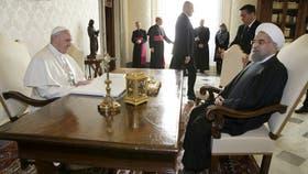 El Papa recibió al presidente de Irán a 16 años de la última visita oficial