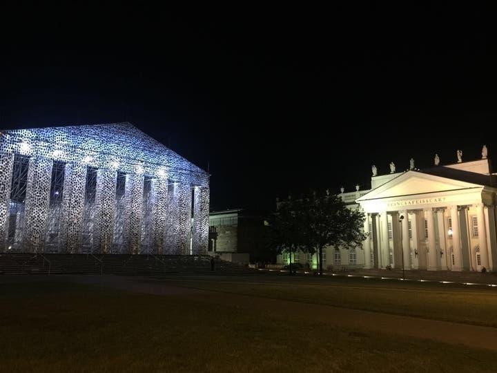 El Partenón de los libros prohibidos de Marta Minujín en Documenta 14