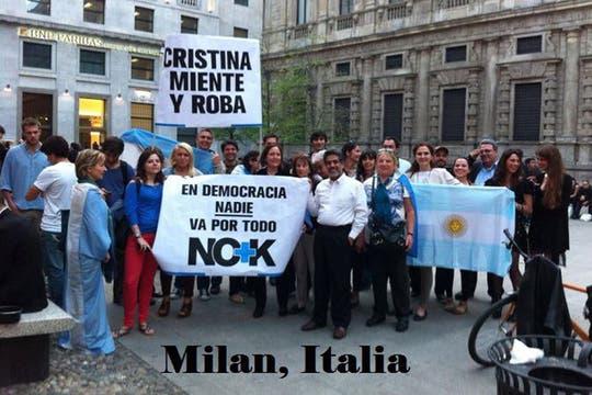 Milán, Italia. Foto: facebook.com/ArgentinaEnElExterior