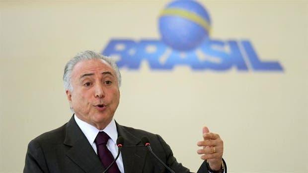 Más problemas para el presidente de Brasil, Michel Temer