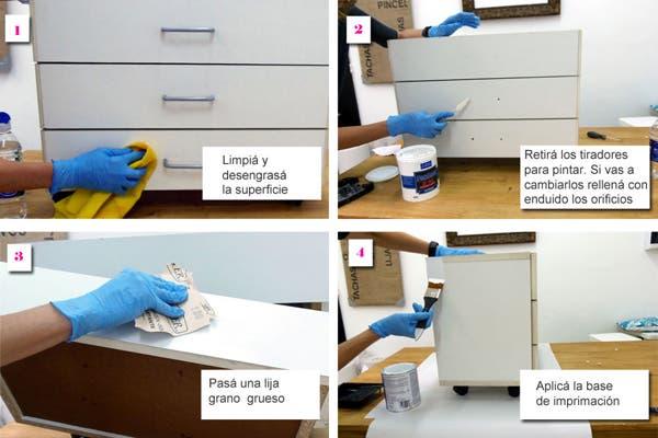 Como limpiar muebles de madera color blanco materiales for Como limpiar muebles de madera