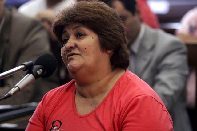 Irma Medina, estuvo acusada de mantener secuestrada a Marita Verón y administrar su prostitución