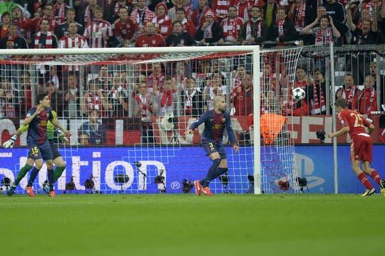Barcelona estuvo desconocido y perdió 4 a 0. Foto: AFP