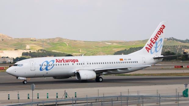 Los pilotos de la compañía aérea Air Europa piden no volar a Caracas