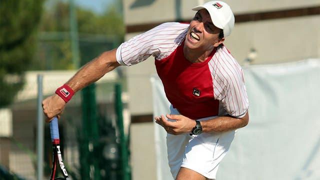Charly Berlocq perdió en tres sets ante Baghdatis