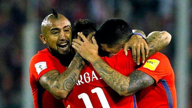 Festeja Chile, que derrota a Ecuador