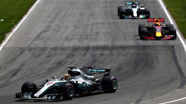 Lewis Hamilton, otra vez al frente en Canadá