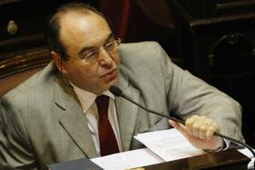 Cabanchik muestra sus diferencias con el oficialismo