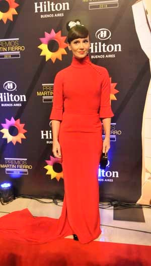 Griselda Siciliani, vestida por Pablo Ramírez en la edición pasada