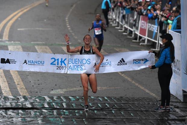 Borelli y Mastromarino, campeones nacionales de 21K