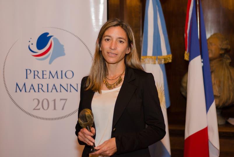 Cecilia Retegui, cofundadora de Zolvers, la ganadora de la primera edición de los Premios Marianne