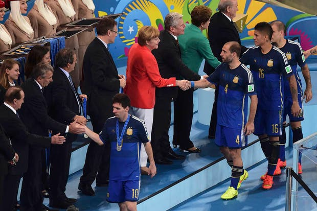 Alemania se coronó campeón de la Copa del Mundo.  Foto:Reuters