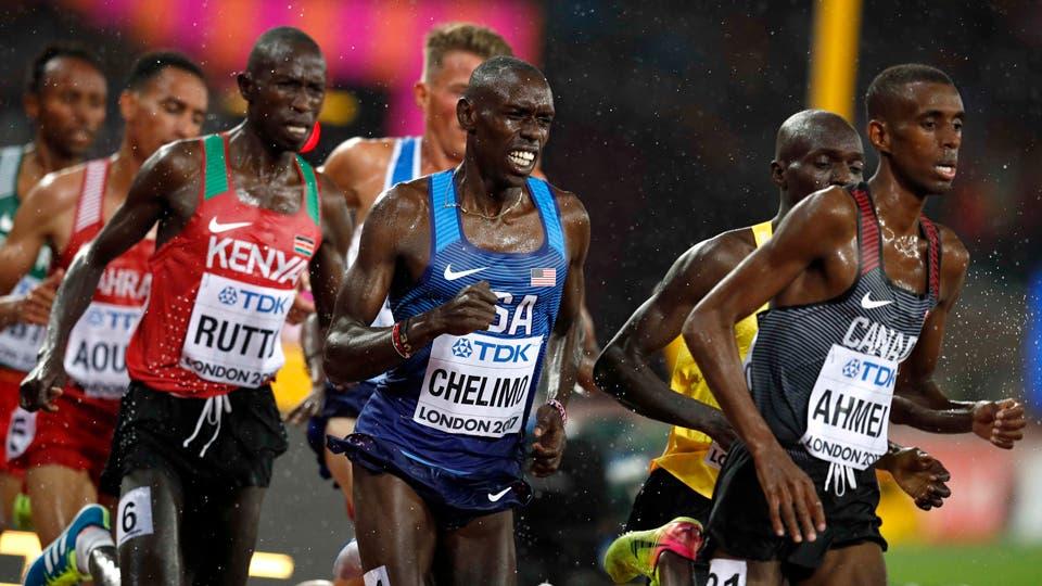 5000 metros de los hombres Heats Paul Kipkemoi Chelimo de los EE.UU. en acción.. Foto: Reuters