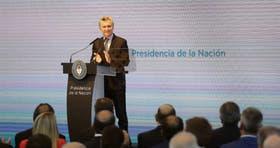 Macri presentó su plan de reformas hace dos meses, en el CCK
