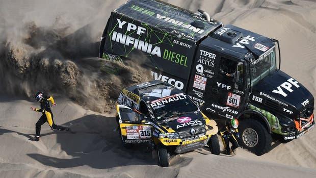 Rally Dakar 2018: Organización suspendió la novena etapa por mal tiempo
