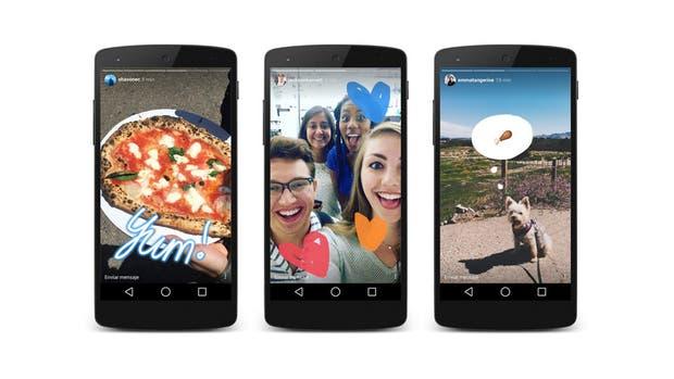 Con Stories, Instagram se suma a la tendencia de los contenidos efímeros de Snapchat, junto a herramientas especiales de texto y dibujo