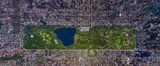 La espectacular foto aérea de la Gran Manzana
