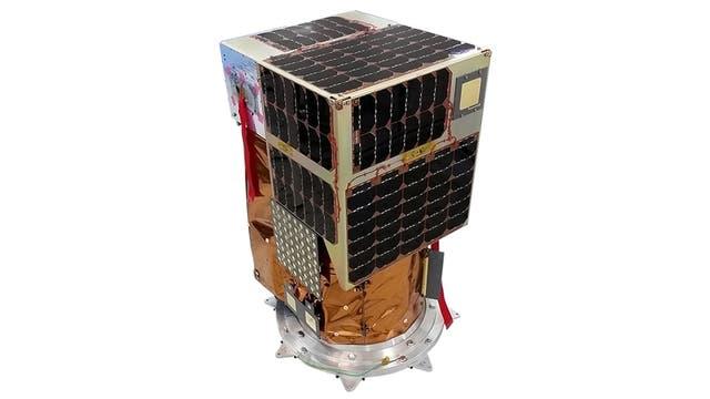 Milanesat, el último satélite puesto en órbita: pesa 40 kilos y tiene 80 cm de alto por 40 cm de ancho