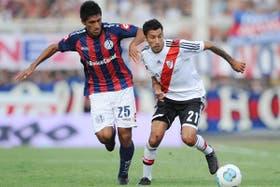 Vangioni y Alvarado, en acción