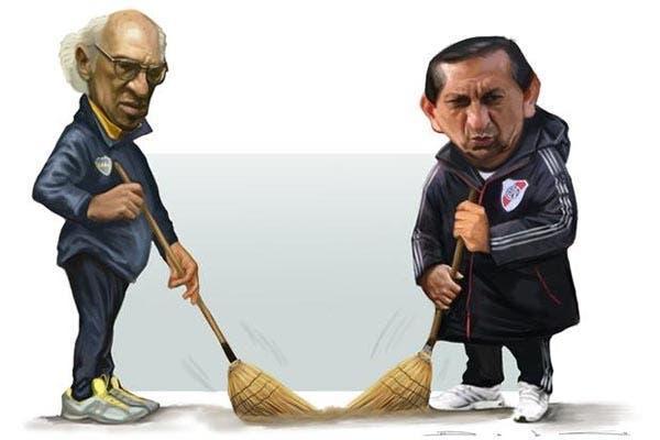 Bianchi y Ramón pasaron la escoba
