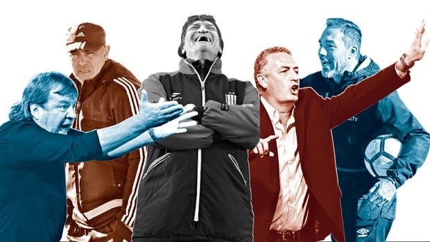 Zielinski, Llop, Falcioni, Alfaro y Matosas, sólo cinco de los 13 entrenadores mayores de 50 años que tiene la Primera